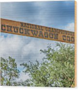 Chuckwagon Cookoff Wood Print