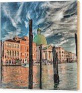 Church Of San Simeone Piccolo, Venice Wood Print