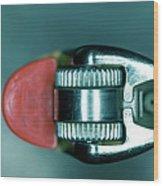 Cigarette Lighter, Close-up Wood Print