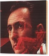 Cincinnati Royals Coach Bob Cousy Sports Illustrated Cover Wood Print
