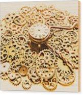 Circular Mechanics Wood Print