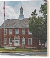 City Hall - Shelby, North Carolina Wood Print