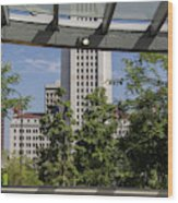 Civic Center Metro Station Los Angeles Wood Print