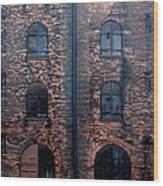 Civil War Era Spice Warehouse Wood Print