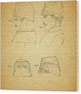 Civil War Military Hat Wood Print