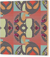 Claire Pattern Wood Print