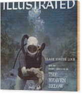 Clare Boothe Luce, Scuba Diving Sports Illustrated Cover Wood Print
