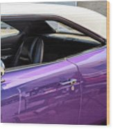 Classic Charger Seaside Heights Wood Print