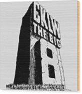 Classic Cklw Logo Wood Print