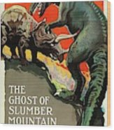 Classic Movie Poster - The Ghost Of Slumber Mountain Wood Print