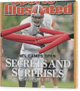 Cleveland Browns Jamal Lewis... Sports Illustrated Cover Wood Print