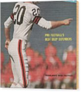 Cleveland Browns Ross Fichtner... Sports Illustrated Cover Wood Print