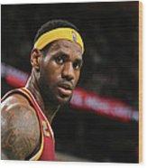 Cleveland Cavaliers V Boston Celtics Wood Print