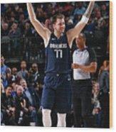 Cleveland Cavaliers V Dallas Mavericks Wood Print
