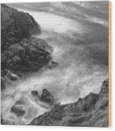 Cliffs Down Under Wood Print