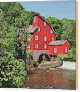Clinton Mill IIi Wood Print