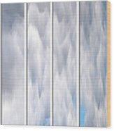 Cloud Abstract Wood Print