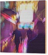 Clubbing On Arcturus Iv Wood Print