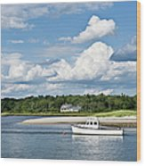 Coastal Scenic Wood Print
