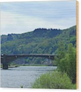 Cochem Castle And River Mosel In Germany Wood Print