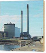 Cockenzie Power Station Wood Print