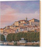 Coimbra's Skyline Wood Print