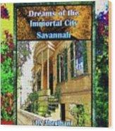 Collectible Dreaming Savannah Book Poster Wood Print