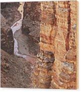 Colorado River Glen Canyon Gorge Wood Print