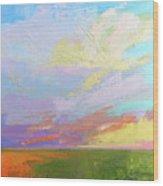 Colorful Sky Wood Print