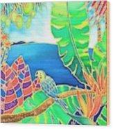 Colorful Tropics 16 Wood Print