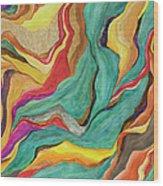 Colors Of Humanity Series Wood Print