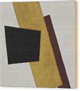 Composition. Artist Popova, Lyubov Wood Print