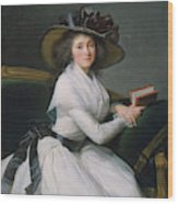 Comtesse De La Chatre Later Marquise De Jaucourt  Wood Print