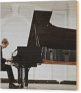 Concert In The Rachmaninov Hall Of The Wood Print