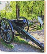 Confederate 20 Pound Parrott Rifles Wood Print