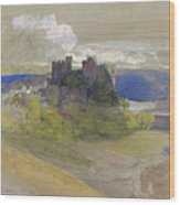Conway Castle - Digital Remastered Edition Wood Print