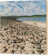 Coral Beach, Skye Wood Print