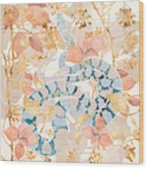 Coral Spring Garden Wood Print