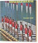 Cornell University Crew Team Sports Illustrated Cover Wood Print