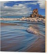 Corona Del Mar Beach II Wood Print