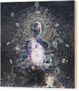 Cosmic Ritual Wood Print