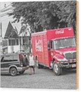Costa Rica Soda Truck Wood Print
