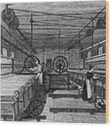 Cotton Mill Wood Print