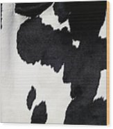 Cow Background Wood Print