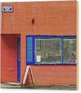 Cranberry Barber Shop Wood Print