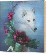 Crescent Wild Winter Solstice Wood Print