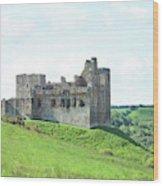 Crighton Castle In Summer Wood Print