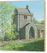 Crighton Historic Church Wood Print