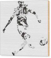 Cristiano Ronaldo Juventus Pixel Art 4 Greeting Card