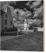 Cromarty Lighthouse Wood Print